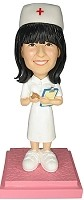 Nurse Bobble Head Doll Doll-2