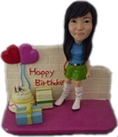 Birthday Girl Bobble Head Doll Doll 2