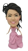 Bobble Head Doll Bridal Party