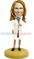 Doctor Girl Bobble Head Doll Doll