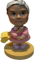 Little Girl Bobble Head Doll