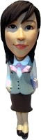 Office Female Bobble Head Doll