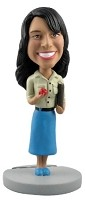 Bobble Head Doll School Teacher