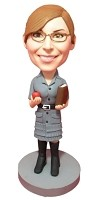 Bobble Head Doll School Teacher 2