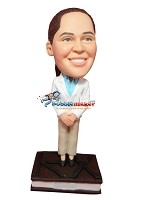 Bobble Head Doll pharmacist Female