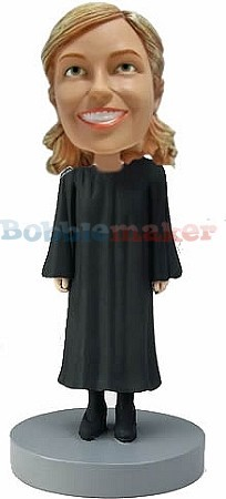 Judge Female bobblehead Doll