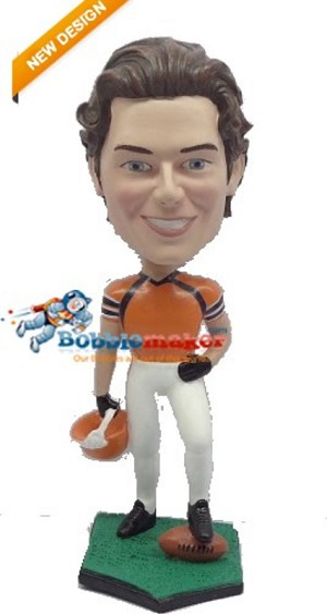 The Touchdown Football Player bobblehead Doll