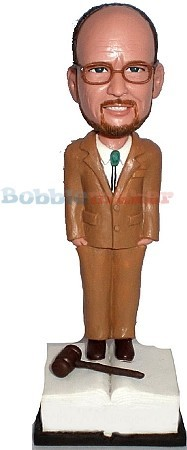 Lawyer Of Justice bobblehead Doll