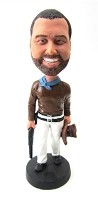 Custom Bobble Head | Cowboy With Shotgun Bobblehead | Gift Ideas For Men