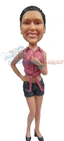 Custom Bobble Head | Daisy Duke Bobblehead | Gift Ideas For Women