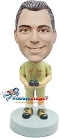 Custom Bobble Head | Bird Watching Man Bobblehead | Gifts for Men