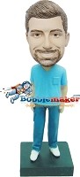 Custom Bobble Head | Male Nurse Bobblehead | Gift Ideas For Men