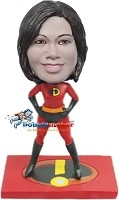 Custom Bobble Head | Mrs. Incredible Bobblehead | Gift Ideas For Women