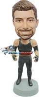 Custom Bobble Head | Male Pro Wrestler Bobblehead | Gift Ideas For Men