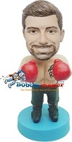 Custom Bobble Head | Thick Male Boxer Bobblehead | Gift Ideas For Men