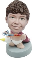 Custom Bobble Head | Superbaby Bobblehead | Gifts for Kids