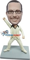 Custom Bobble Head | Saturday Night Fever Male Bobblehead | Gift Ideas For Men