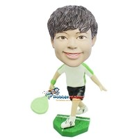 Custom Bobble Head | Boy Tennis Player Bobblehead | Gift Ideas For Men