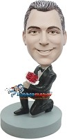 Custom Bobble Head | Proposing Man Bobblehead | Gift Ideas For Wedding