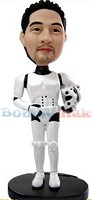 Custom Bobble Head | Male Storm Trooper Star Wars Bobblehead | Gift Ideas For Men
