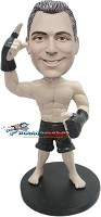 Custom Bobble Head | MMA Fighter Male Bobblehead | Gift Ideas For Men