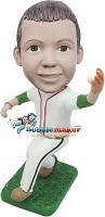 Custom Bobble Head | Boy Catching Baseball Bobblehead | Gift Ideas For Men