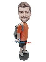 Custom Bobble Head | Hiking Man Bobblehead | Gift Ideas For Men