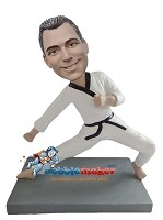 Custom Bobble Head | Karate Man Bobblehead | Gift Ideas For Men