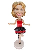 Custom Bobble Head | Sexy Dress Female Bobblehead | Gift Ideas For Women