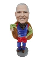 Custom Bobble Head | Strange Superhero Man Bobblehead | Gift For Men