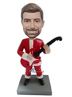 Custom Bobble Head | Rocking Santa Custom Bobblehead |Cool Christmas Gifts