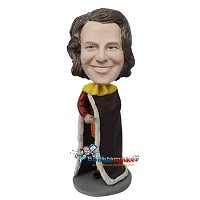 Custom Bobble Head | King Man Bobblehead | Gift Ideas For Men
