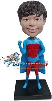 Custom Bobble Head | Superhero Boy Bobblehead | Gift For Men