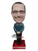 Custom Bobble Head | Retro Male Pharmacist Bobblehead | Gift Ideas For Men