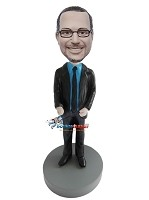 Custom Bobble Head | Standing Office Man Bobblehead | Gift Ideas For Men