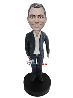 Custom Bobble Head | Casually Dressed Businessman Bobblehead | Gift Ideas For Men