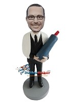 Custom Bobble Head | Bar Mitzvah Man Bobblehead | Gift For Men