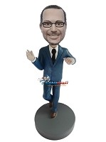 Custom Bobble Head | Dancing Businessman Bobblehead | Gift Ideas For Men