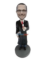 Custom Bobble Head | Male Graduate Bobblehead | Gift Ideas For Men