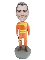 Custom Bobble Head | Man In Hazmat Suit Bobblehead | Gift Ideas For Men