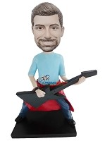 Custom Bobble Head | Rocker Man Bobblehead | Gift For Men