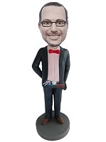 Custom Bobble Head | Groomsman Bobblehead | Gift For Weddings