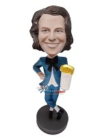 Custom Bobble Head | Beer Loving Dandy Bobblehead | Gift Ideas For Men