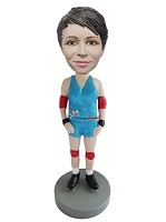 Custom Bobble Head | Female Wrestler Bobblehead | Gift Ideas For Men