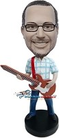 Custom Bobble Head | Guitar Dad Bobblehead | Gift Ideas For Men