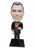 Custom Bobble Head | Man With Superman Shirt Bobblehead | Gift For Men