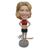 Custom Bobble Head | Stripper Outfit Custom Bobblehead | Gift Ideas For Women