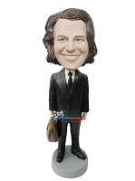 Custom Bobble Head | Executive Male With Briefcase Bobblehead | Gift Ideas For Men