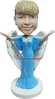 Angel Woman bobblehead Doll