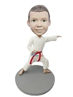 Custom Bobble Head | Male Child Karate Bobblehead | Gift For Men